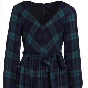 Jcrew Plaid Dress